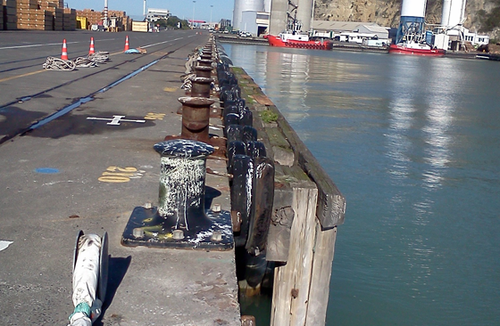 Napier Port Concrete Repairs